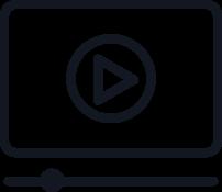 Cursos com conteúdo audiovisuais