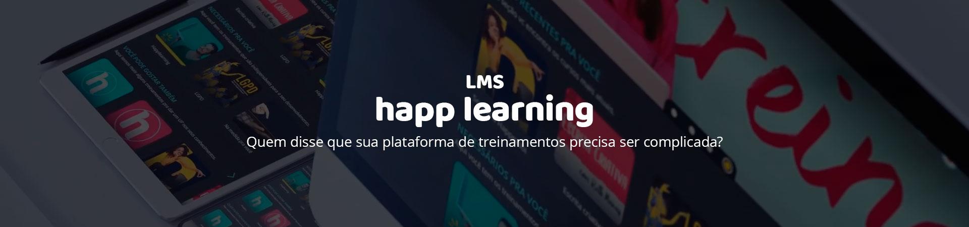 Banner HappLearning - o LSM da Happmobi