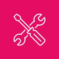 ícone ferramentas